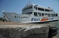 <岡山・フェリー事故>下船直前、階段の乗客転倒 7人負傷