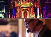 ニコニコ、元DJの住職による「テクノ法要」を生中継。コメントは仏像に投影