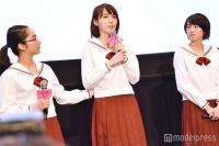 清水富美加とW主演・飯豊まりえが涙「富美加ちゃんも含めみんなで作り上げたことに嘘はない」
