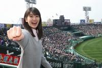 X21・小澤奈々花、春のセンバツ甲子園でエール「実感できないリアルさ」を体感