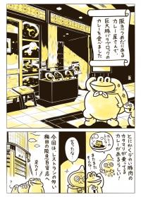肉がでかっ!梅田「いずみカリー」で巨大な豚バラブロック...