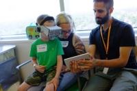 医療用VRゲーム開発 VRで痛みや不安から気をそらす