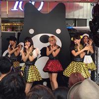 ベビレ、渋谷109前でライブパフォーマンス「渋谷のど真ん中で歌えて嬉しい」