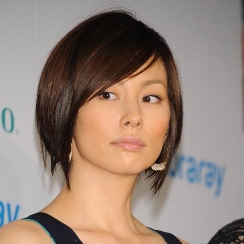 ショートカットが似合う米倉涼子
