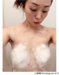 """""""謎の美女""""祥子が泡ブラ披露、髪ブラ上回るセクシー写真にファン歓喜。"""