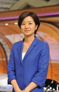 仕事復帰した膳場貴子アナウンサー (C)TBS