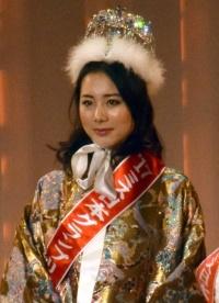 ミス日本2017に大阪大学2年・高田紫帆さん 2156人の頂点に