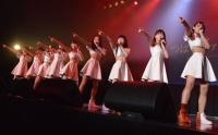 つばきファクトリー、メジャーデビューに号泣 先輩・℃-uteも激励