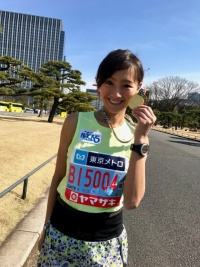 元陸上自衛官・福島和可菜、東京マラソンで2時間57分51秒を記録