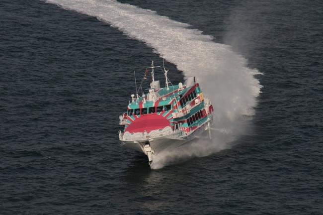 大島って行ったことある? 高速ジェット船でランチツアー