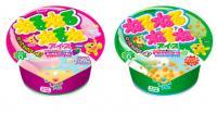 大人気「ねるねるねるね」のアイスが発売されるぞ~! 3種類のアイスを練ると…色が変わって味が変わってしかものび~る!