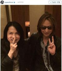 【豪華】hydeさんがYOSHIKIさんとの仲良しツーショットを公開して話題に! ネットの声「神×神」「発狂しました」