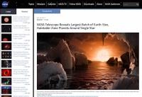 NASAが地球似の惑星発見「生命いるいる詐欺」?