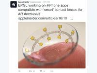 iPhone連携のコンタクトレンズ、AR映像見られる?