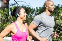 スポーツに最適!耳穴をふさがない骨伝導ヘッドホン