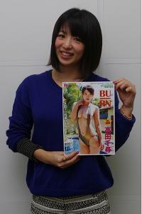 """ばーん・高田千尋が """"過激すぎる女芸人のグラビアDVD""""を発売「中身はもっとすごいんです!」"""