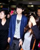 「イタキス」で注目の古川雄輝、台湾でも大人気!空港には女性ファンが押し寄せる―台北市