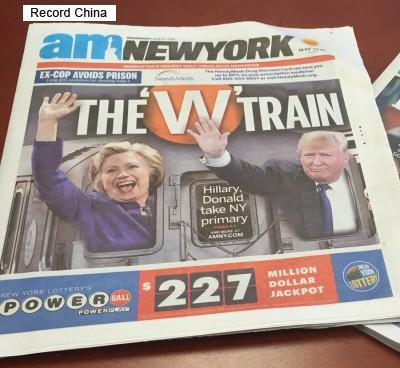 米大統領選が早くもスタート?!クリントン、トランプが舌戦を展開―米メディア