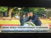 オバマ大統領、被爆地の広島を訪問=米国ネット「米国は戦没者追悼記念日の週末だ。タイミングに驚きだな」「広島の平和記念資料館を訪れた時に…」