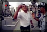 【動画】「私の祖父は日本人!」=独立派男性のけんかを冷静に仲裁していた台湾の警官、この一言で豹変