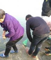 中国の湖で魚を放生、すぐに市民が群がり乱獲=中国ネット「恥ずかしい」「これが伝説の中国式放生か」
