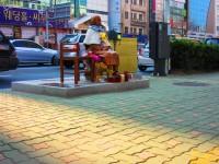 韓国の慰安婦像反対派が「対抗像」の設置試みるも失敗、「韓国と日本は友達だ」のプラカードも奪われる=韓国ネットからは辛らつな声