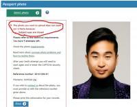 アジア系NZ男性、目を閉じた写真と判定されパスポート更新できず