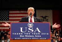 米中関係の改善必要=トランプ次期米大統領