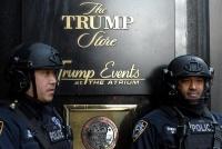 トランプタワー警備費用27億円、NY市が政府に返還求める