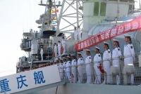 海軍画像にネットで酷評殺到、中国国防省が「不注意」認め謝罪