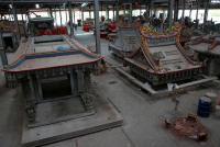 台湾で霊廟の新工法、「鋳型」にコンクリート流し込むだけで低予算