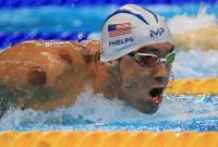 競泳フェルプス選手、金メダルより肩の「紫色の丸」に話題集中