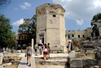 ギリシャの風の塔が修復終え一般公開、「最古の気象観測所」