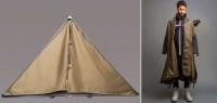 難民の居住問題をファッションで解決。ジャケットとして着用できるテント