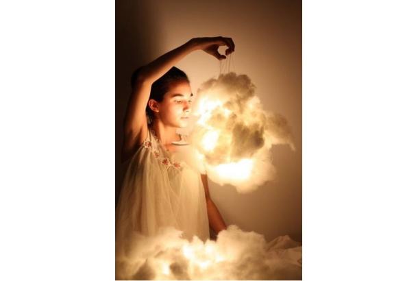 """「お部屋に """"雲"""" のある生活、始めてみませんか?」クラウドライトのハンドメイド6選"""