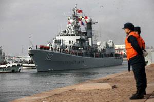 海上における軍事力、中国は日本にはるかに劣るのが現状