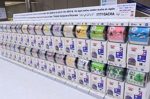 アキバや成田に大量出現した「ガチャガチャ」、中国人も「20回やっちゃった」と大喜び!