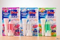 スタンプ式トイレ洗浄剤『ブルーレットスタンピー』は、どこが進化した!? 花びら型がかわいい!