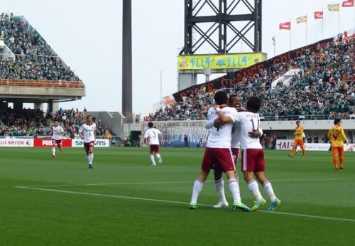 松本、清水相手に1点差を守りきりJ1初勝利…飯田が決勝ゴール