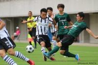 初出場の昌平がベスト4進出…3戦12発の静岡学園に完封勝利