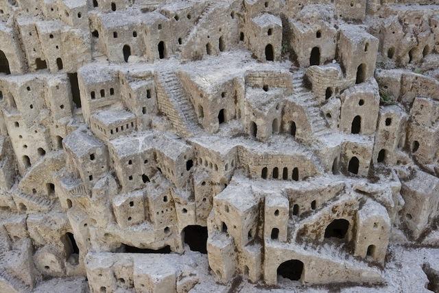 世界遺産、マテーラの洞窟住居 -...