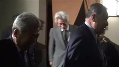 安倍首相が小泉氏らと会合、町村衆院議長の就任祝い