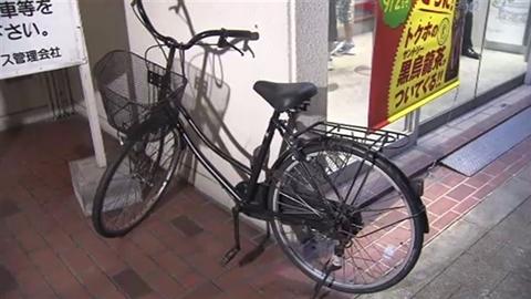中1女子の自転車か、同級生 ...