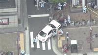 神戸・車暴走、逮捕の男「大変申し訳ない」