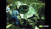 長崎市のトンネル内で観光バスと軽乗用車が衝突、5人死傷
