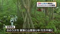 北海道七飯町で山菜採りの小2男児不明
