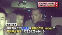 清原元選手の運転免許、覚醒剤めぐり6か月停止