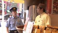 横浜中華街で甘栗の「押し売り」パトロール