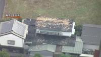 鳥取で震度6弱、倉吉でけが人・北栄町で家屋倒壊情報
