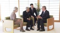 両陛下、バッハIOC会長と面会